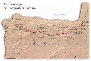 Ел Камино де Сантяго