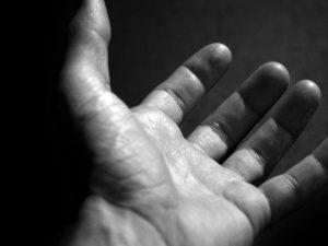 Печатът на бога върху човешката ръка