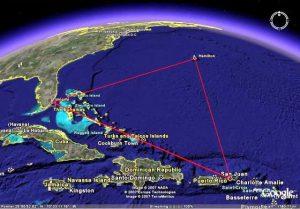 Нова теория за разгадаване на тайната за Бермудския триъгълник