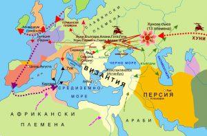 Общ произход на баварците и българите