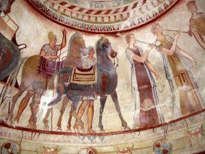 Древногръцка или тракийска е съвременната представа за античността